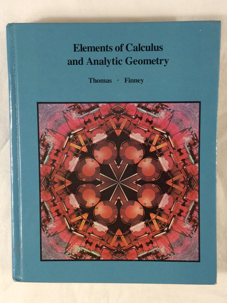 Elements of Calculus and Analytic Geometry