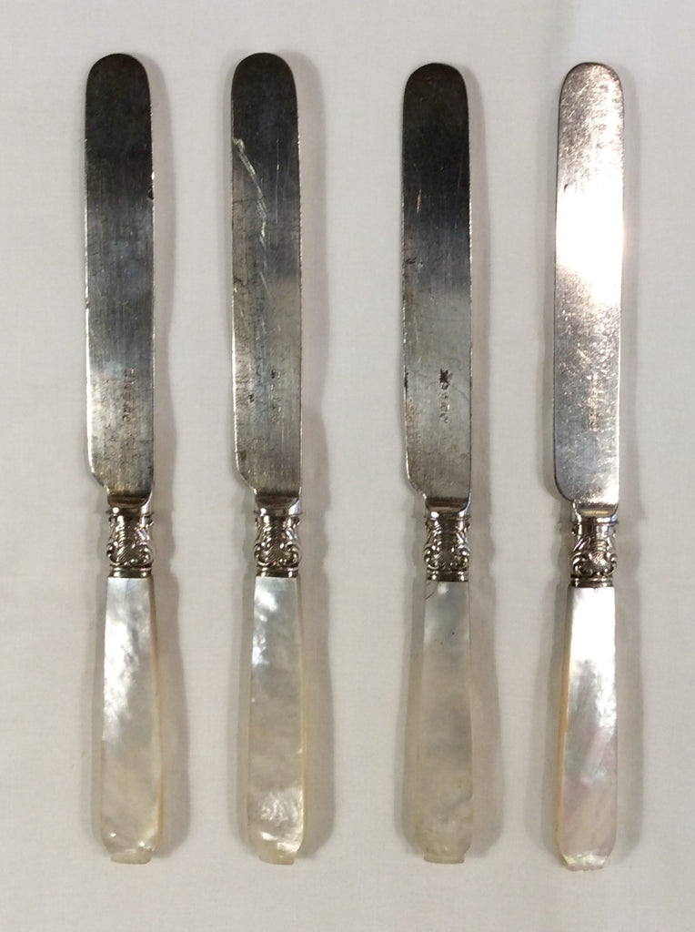 Pearl handled & Sterling Knife Set by Landers, Fray & Clark