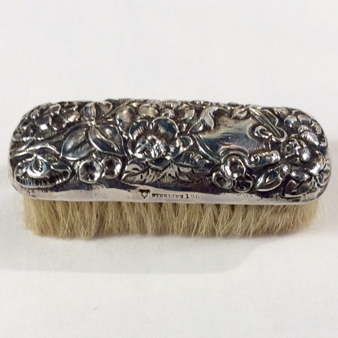 Sterling Clothes Brush