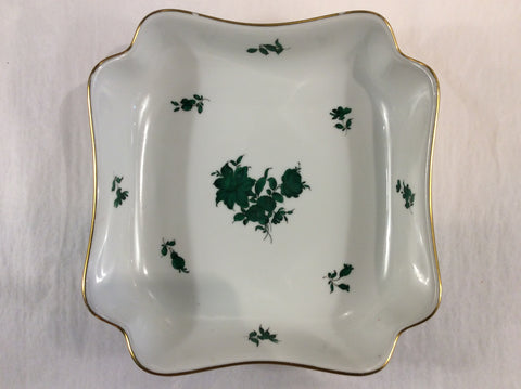 Austrian square porcelain serving dish