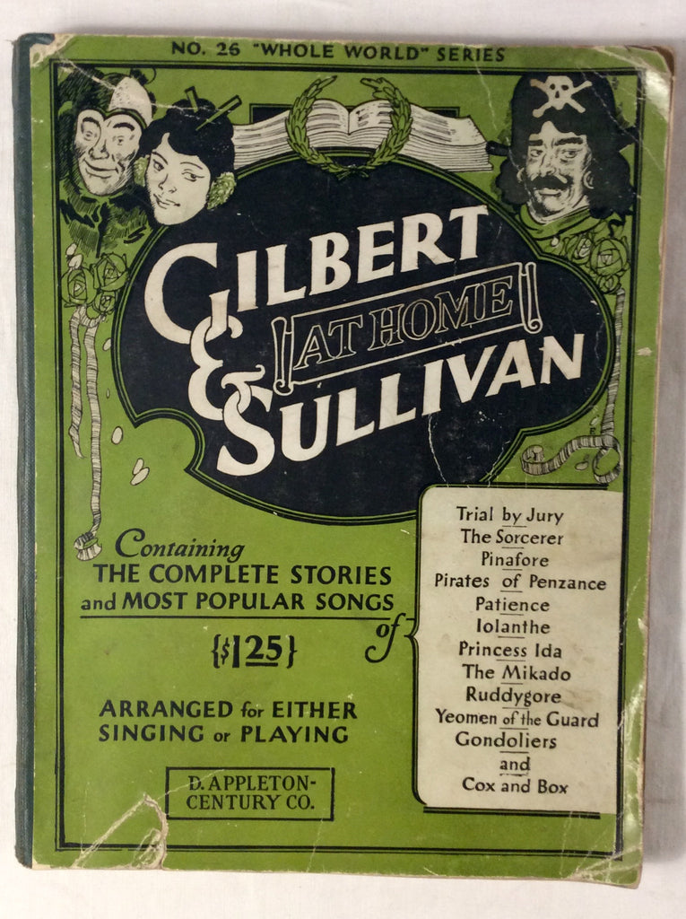 Gilbert & Sullivan at Home
