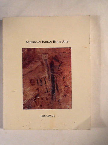 American Indian Rock Art