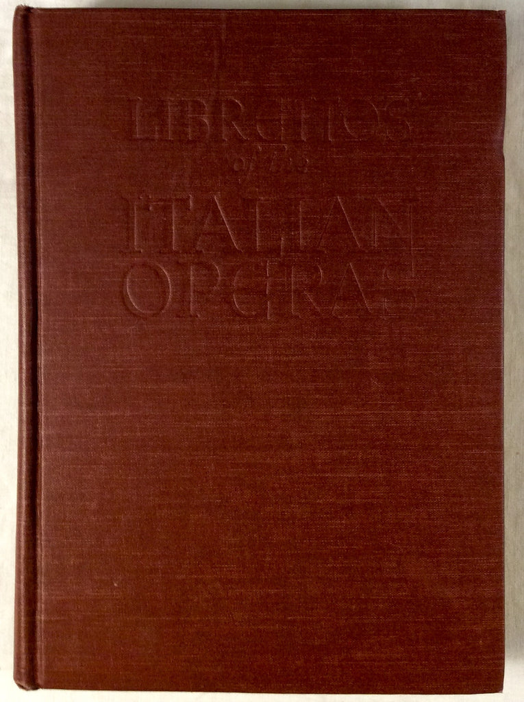 Librettos of the Italian Operas