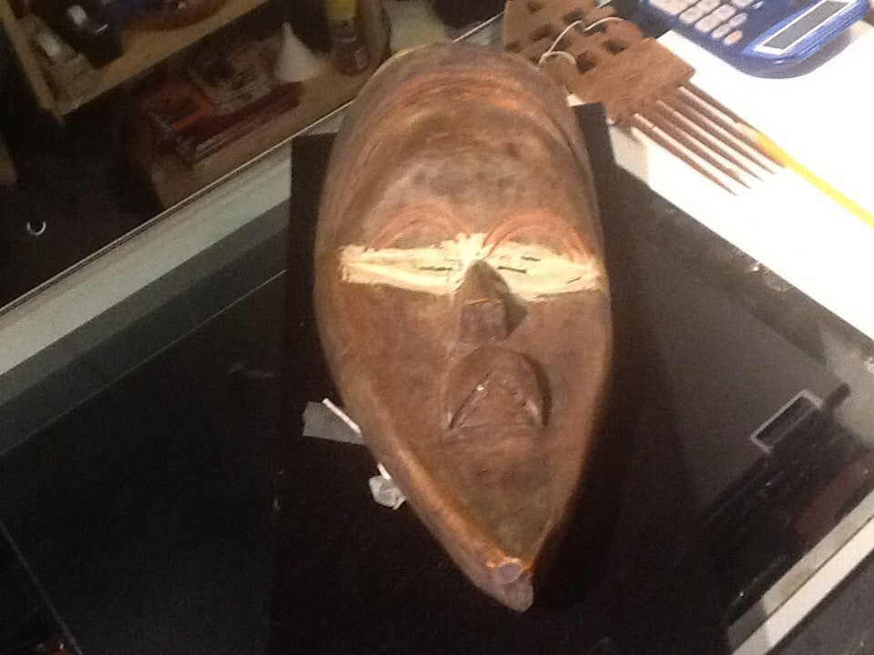 West African 20th Century Tribal Mask