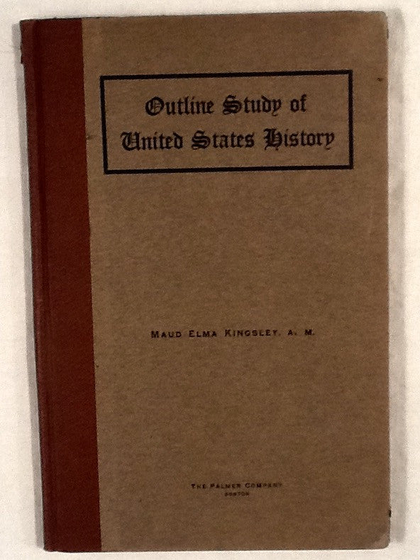 Outline study of united states history charlotte elliott the outline study of united states history charlotte elliott the book store next door publicscrutiny Images