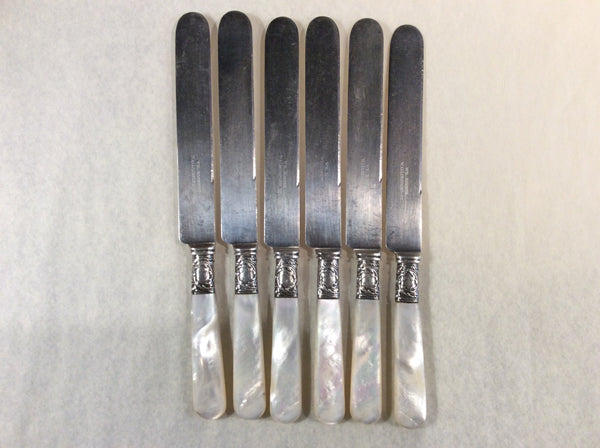 American Sterling Silver and Pearl Handled knife Set