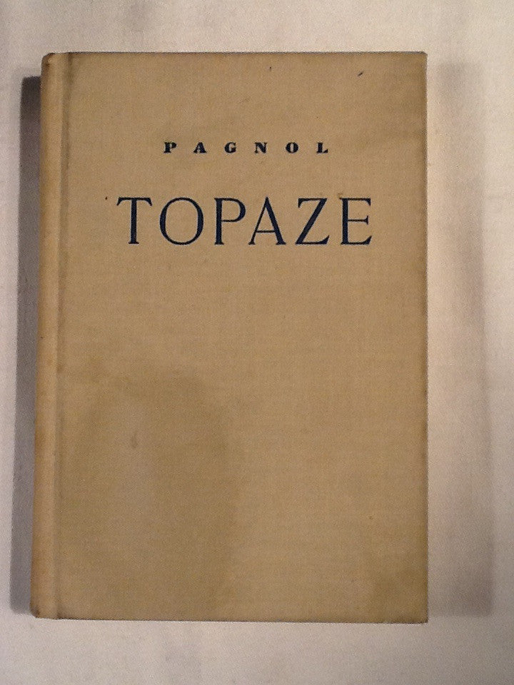 Topaze: French language
