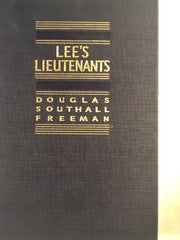 Lee's Lieutenants Volumes I,II,III