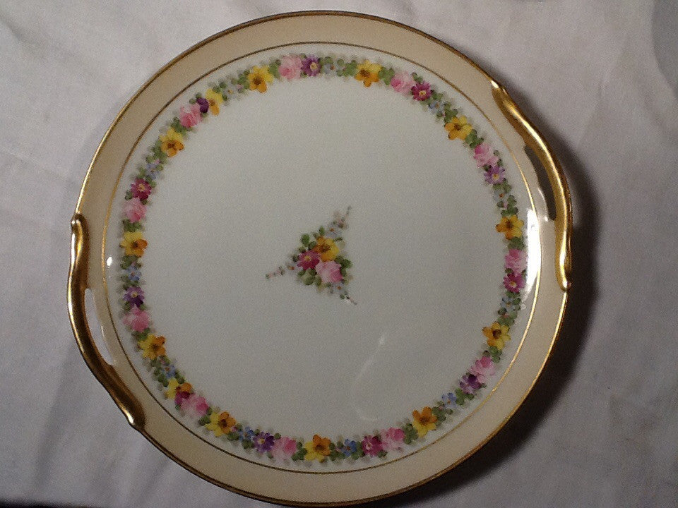 Japanese Export Cake plate