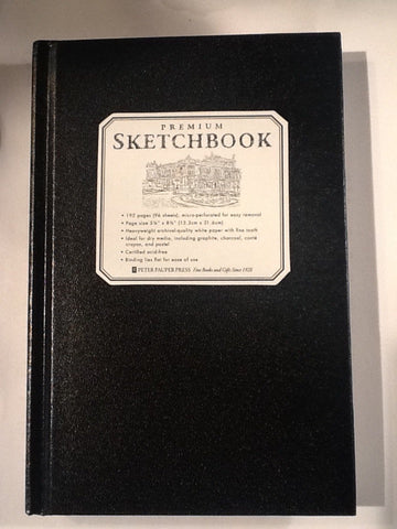Premium sketchbook journal full-size