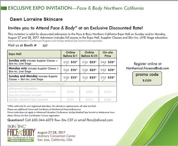 FACE & BODY SAN JOSE DISCOUNT