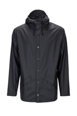 RAINS Jacket, Black