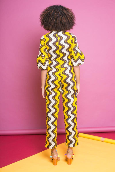 Yeni Yellow Jumpsuit