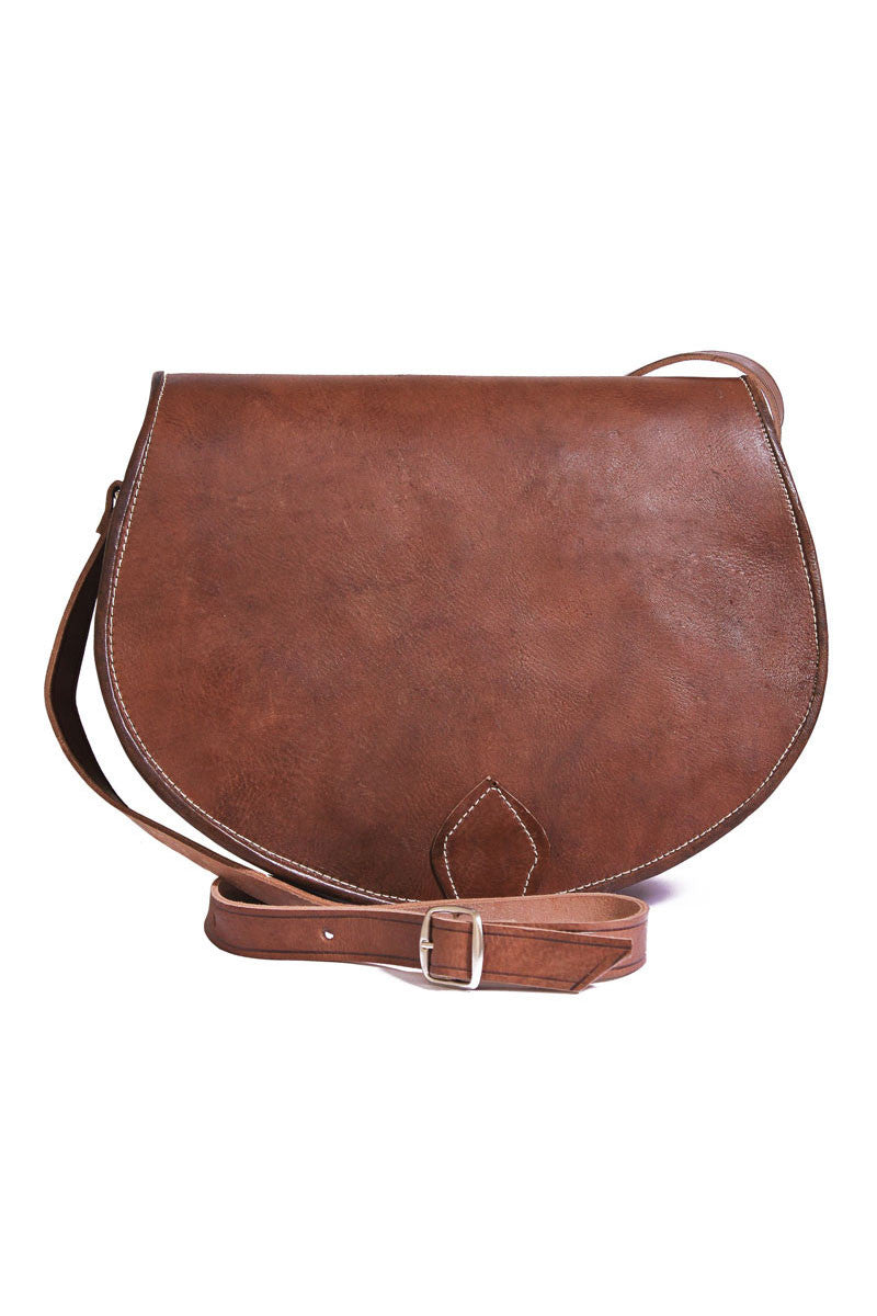Anais Brown Satchel
