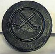 Hockey Puck Soap