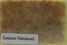 Lemon Oatmeal Soap