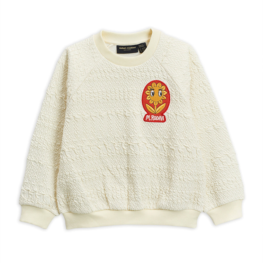 FLOWER PATCH SWEATSHIRT