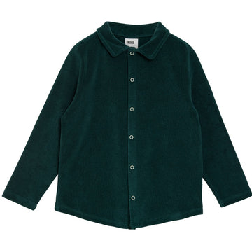 WANG SHIRT⎜BOTTLE GREEN