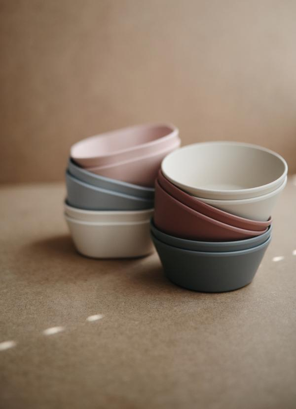 SQUARE BOWL SET⎟IVORY