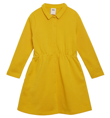 LEMON CURD COLLAR DRESS