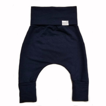 FRENCH TERRY GROWN WITH ME PANTS - NAVY
