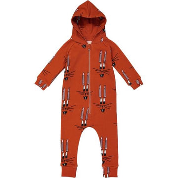 RED BUNNY JUMPSUIT