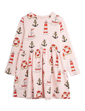 LIGHTHOUSE LONG SLEEVE DRESS