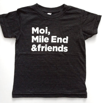 LOUWOLF COLLECTION T-SHIRT - MILE END