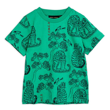 TIGER ALL OVER PRINT T-SHIRT