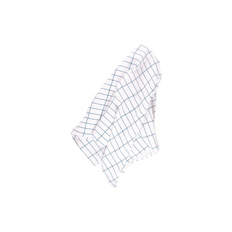 BLUE GRID SWADDLE