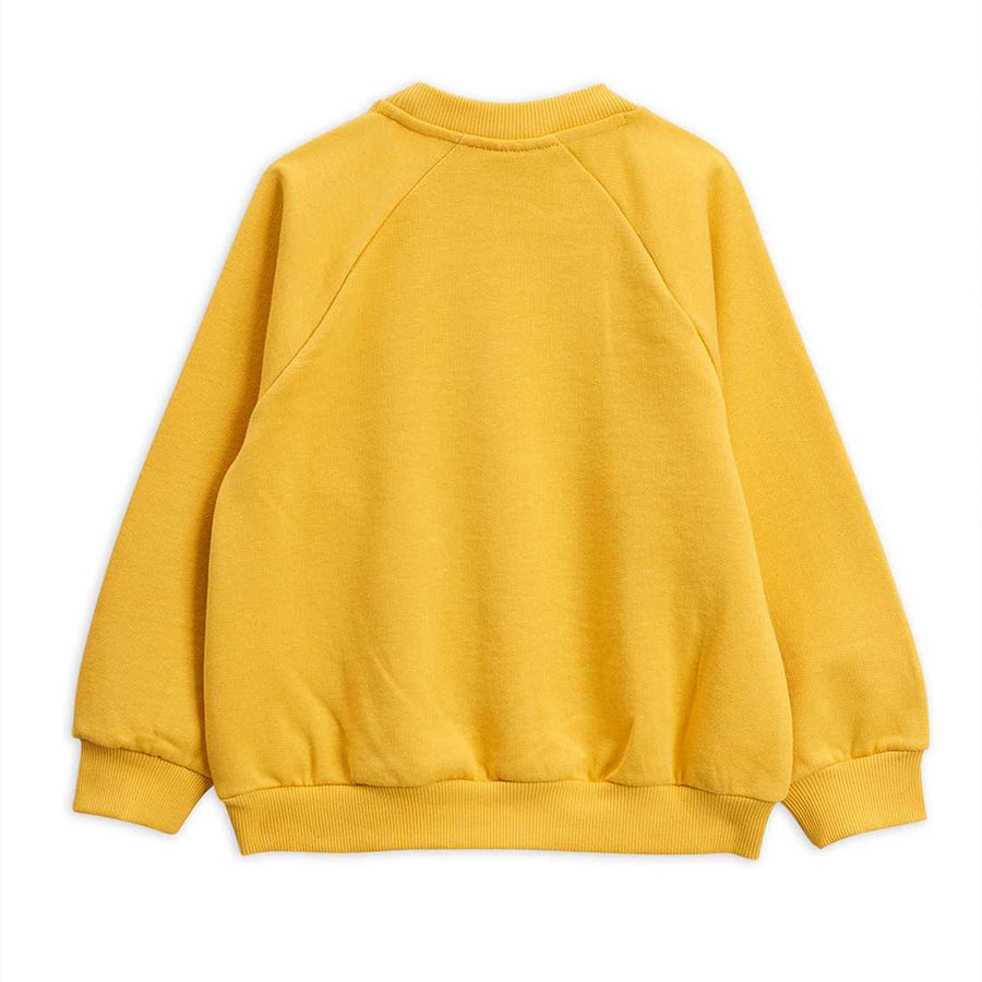 OCTOPUS YELLOW SWEATSHIRT