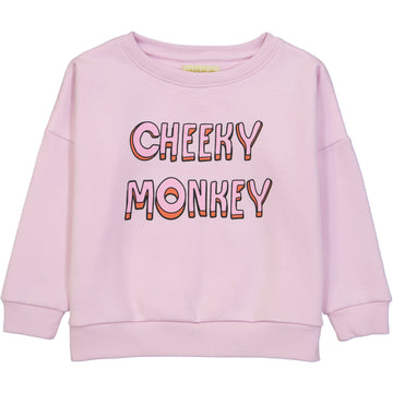 WIDE SWEATSHIRT - CHEEKY MONKEY
