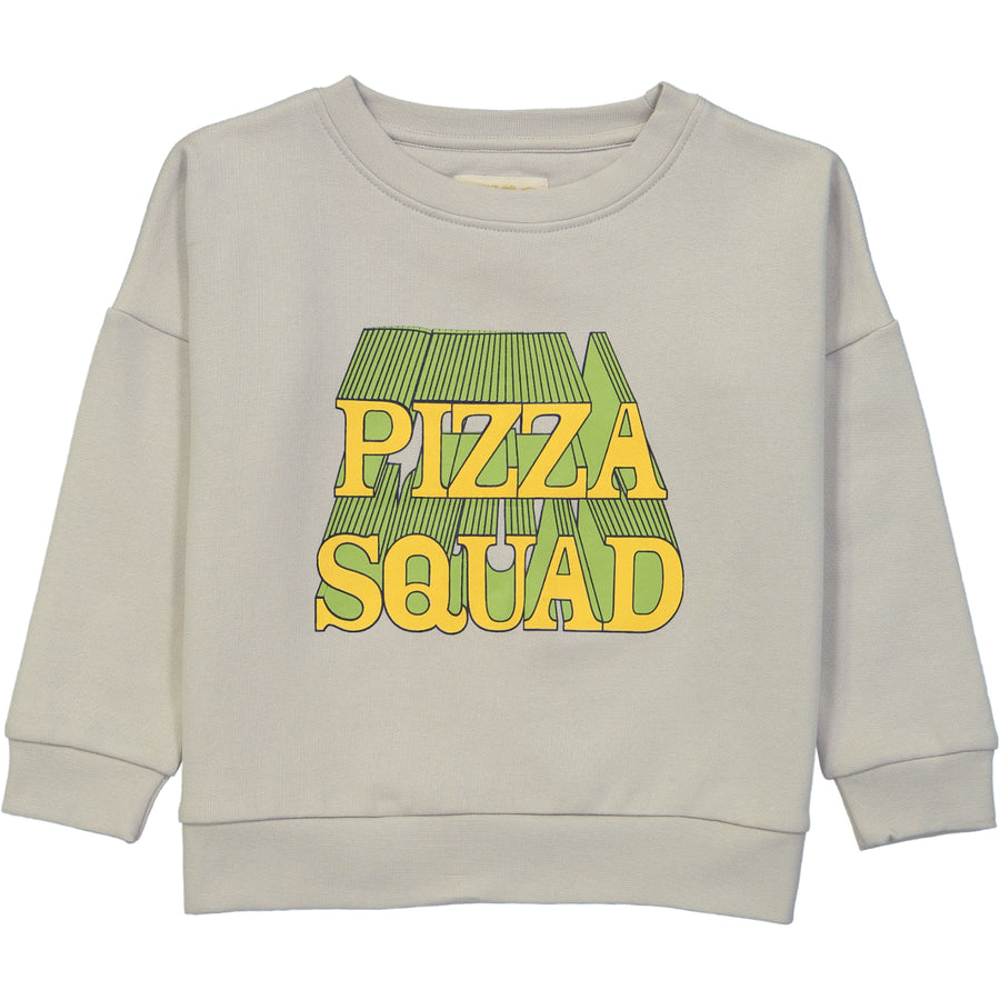 WIDE SWEATSHIRT- PIZZA SQUAD