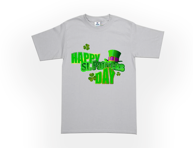 MENS ST. PADDY'S DAY CREW NECK TEES