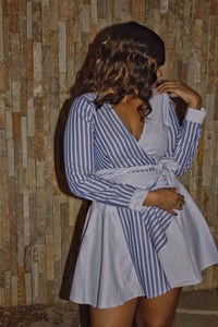 Chic N School Wrap Dress