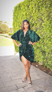The Green Velvet Dress
