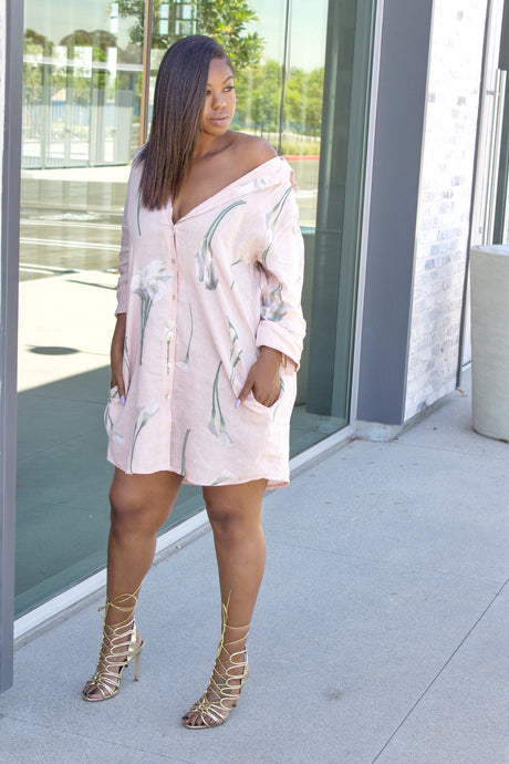 Easy Breezy Linen Dress