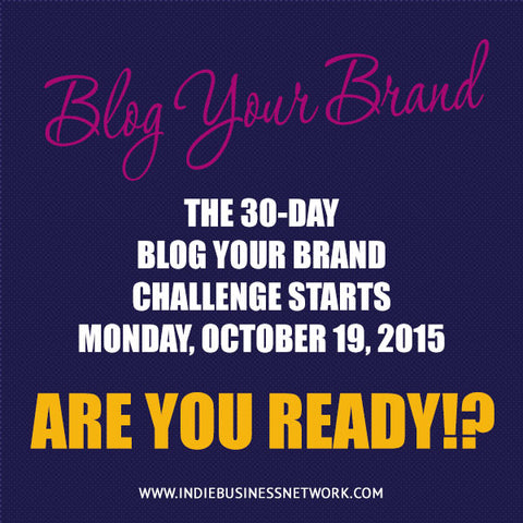 Blog your brand Challenge