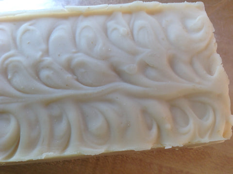 Basic All Natural Honey Oatmeal Unscented soap Cold Process recipe