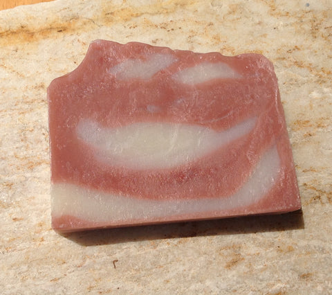 Cedar Rose Clay Soap Cold Process Handmade Luxury Scented Soap