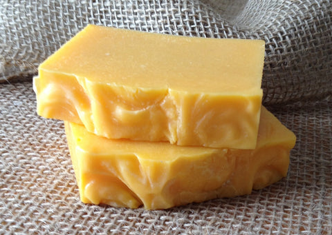 Natural Annatto Lemongrass Handmade Soap