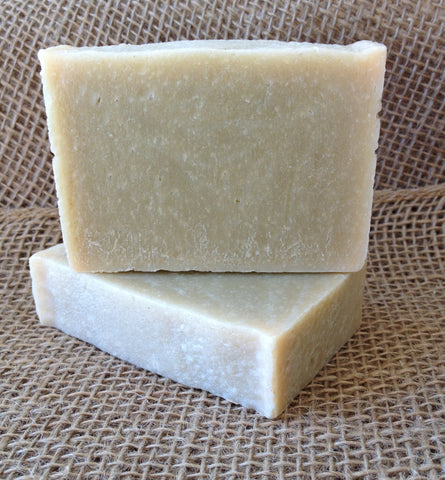 Spirulina Natural Handmade Unscented Soap Cold Process Fragrance Free