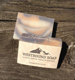 Indigo & Paprika Soap Scented with Rosemary and Eucalyptus Essential Oils Natural Handmade