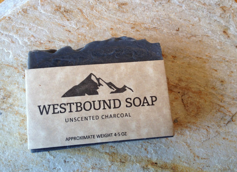 Charcoal Handmade Unscented Soap