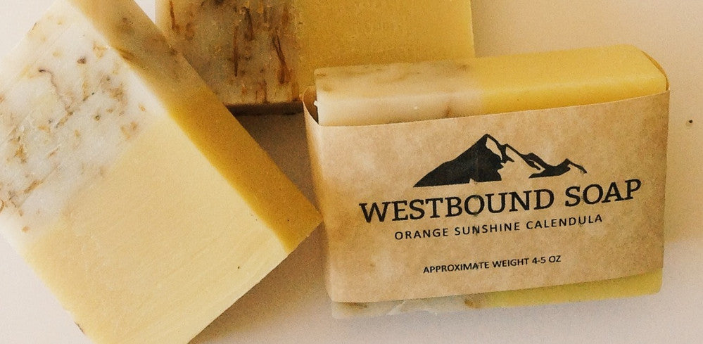 Westbound Calendula Orange Sunshine Soap