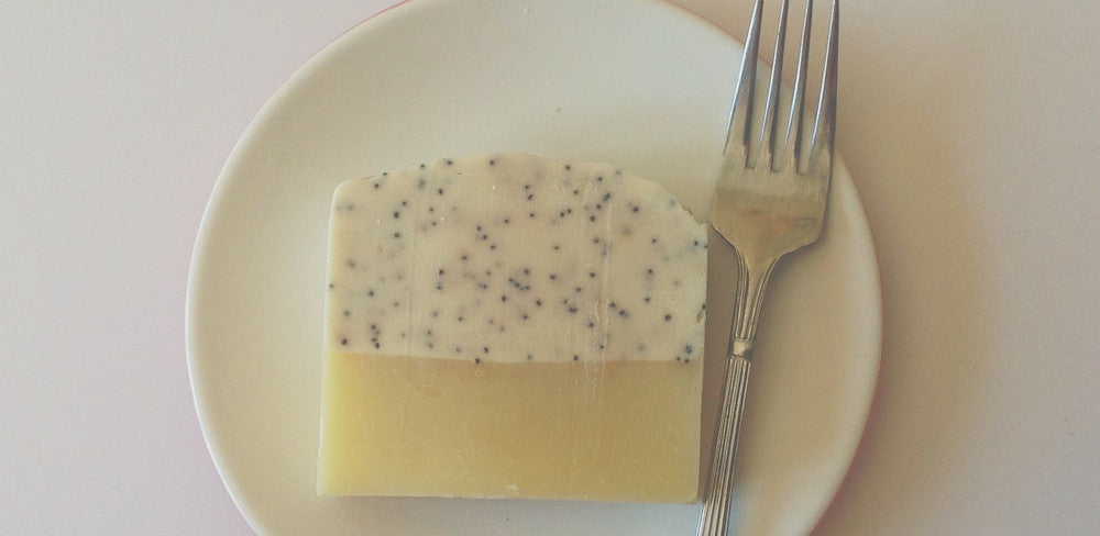 Lemon Grass Poppy Seed Soap