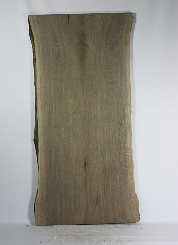 Live Edge Book Match Slab: Black Walnut