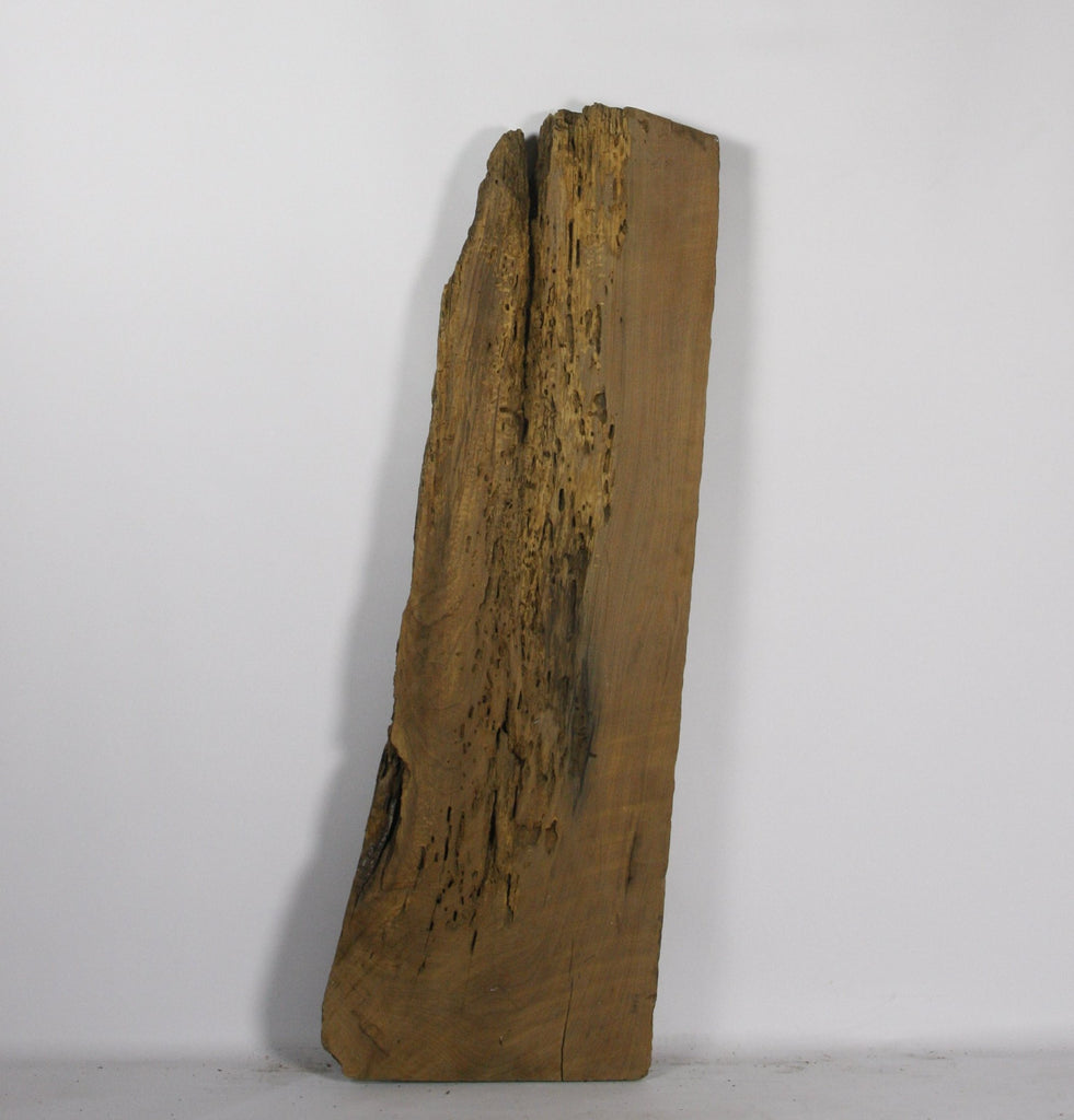 Live Edge Shelf: Air-Dried Black Walnut, Rough Sawn