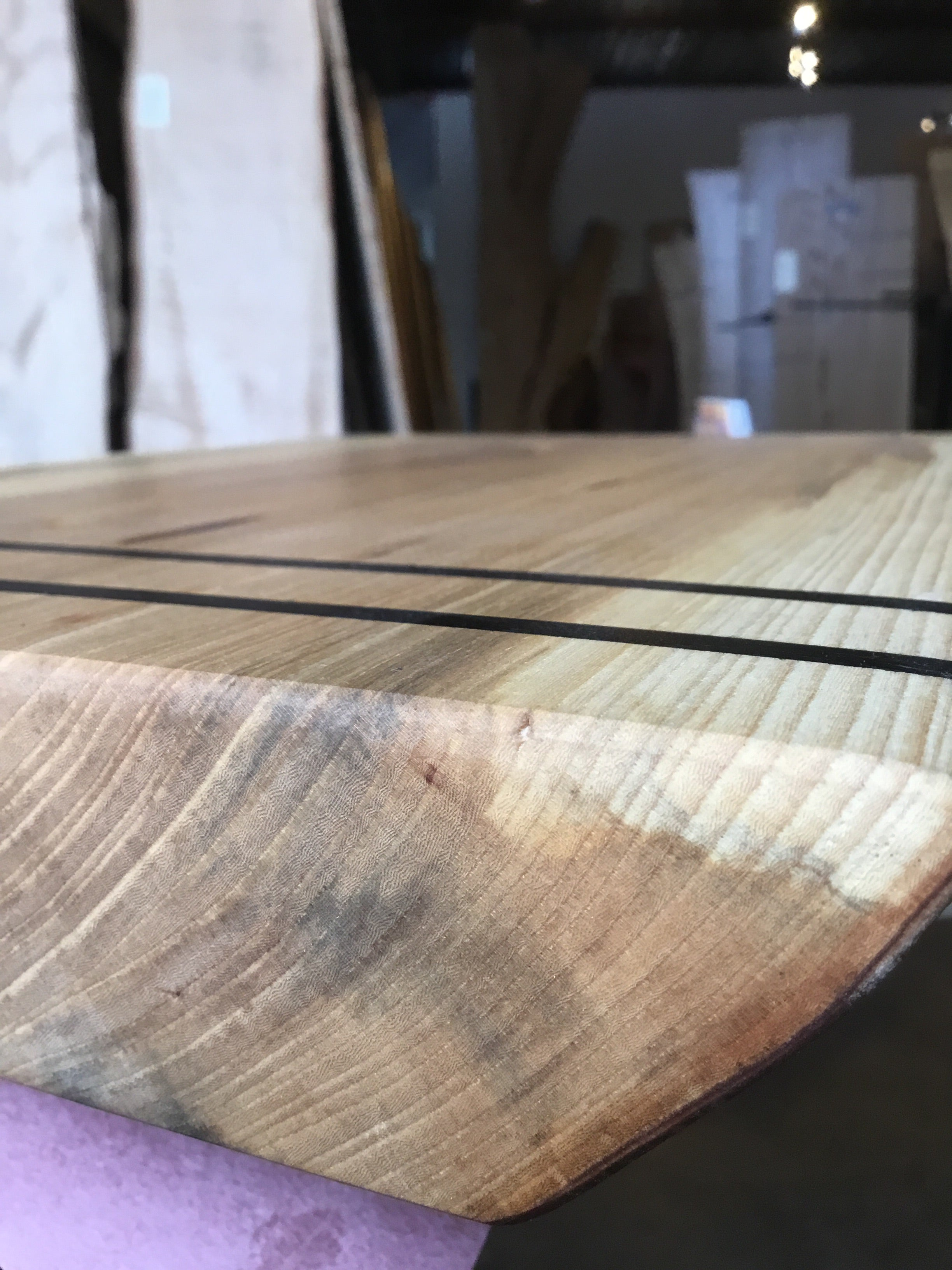 Live Edge Curly Maple Charcuterie Tray