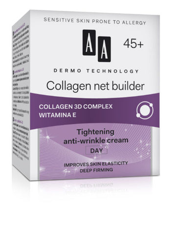 AA DERMO TECHNOLOGY - Collagen net builder (Day Cream)